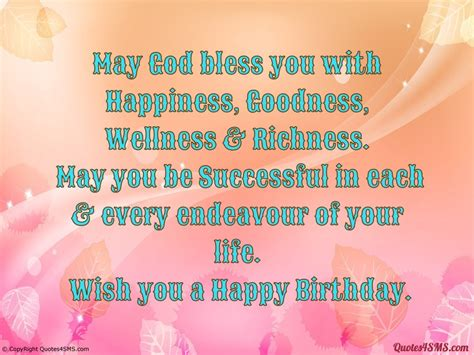 Happy Birthday God Bless You Quotes Happy Birthday May God Bless You Quotes