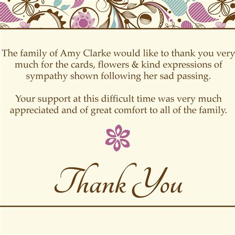funeral thank you cards templates free funeral thank you cards templates ideas anouk