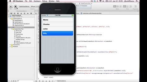 tutorial xcode portugues xcode 4 2 tableview tutorial pt 3 espa 241 ol subtitles e