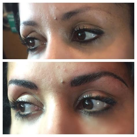 3d effect hair stroke eyebrow tattoo 3d hair stroke eyebrows by jenn yelp
