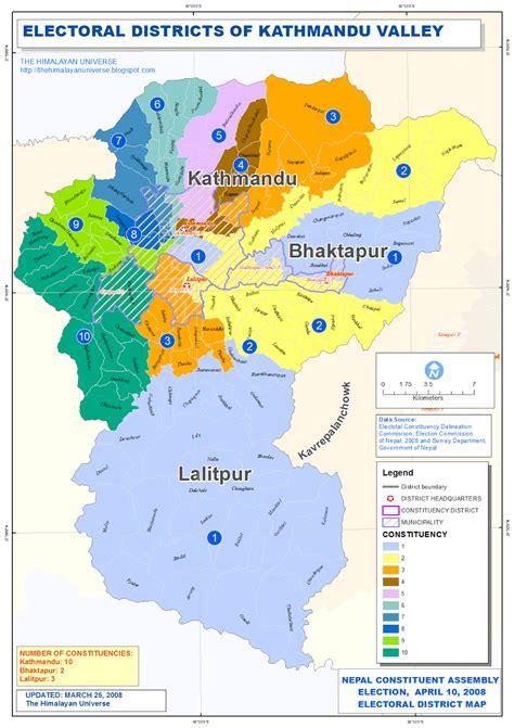map of lalitpur nepal the himalayan universe constituency map of kathmandu