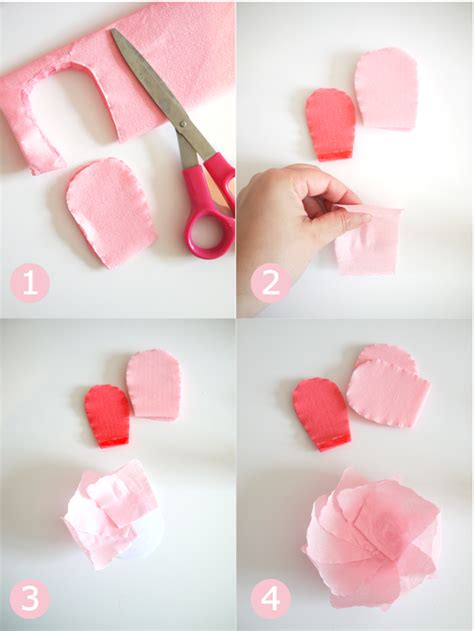 easy unique to make a rose paper flower tutorial youtube diy crepe paper flowers bouquet party ideas party