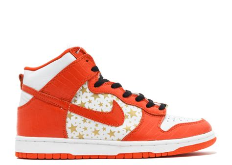 nike dunk high supreme dunk high pro sb supreme quot supreme quot white college orange