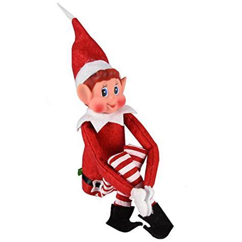 On The Shelf Behaving Badly by Weihnachtself Stofftier Smiley Gesicht Sitzt Auf Regal
