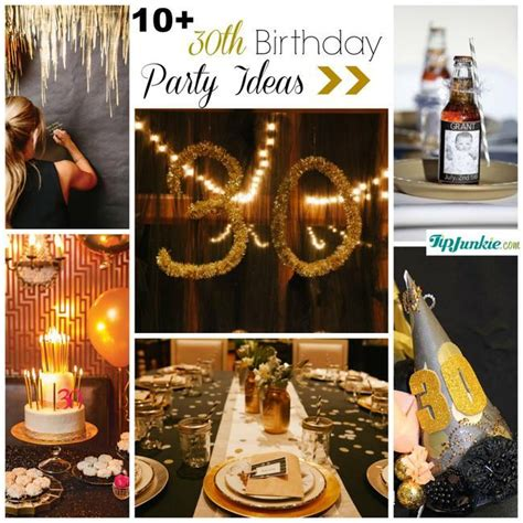 30th birthday decorations 12 ideas to rock your 30th birthday tip junkie