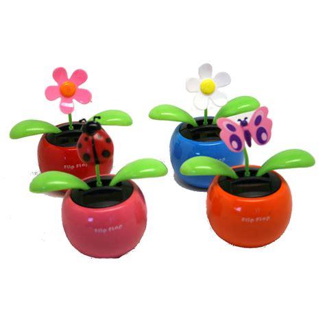 solar toys solar flower
