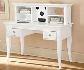 Writing Desk And Hutch Walnut Street White Writing Desk With Storage Drawers