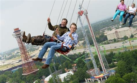 swing ride photos best new theme park rides parks the park and