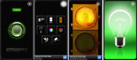 free flashlight app for android also has lights