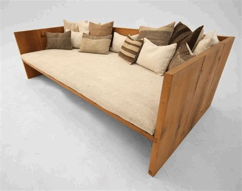 reclaimed wood sofa reclaimed furniture by gursan ergil