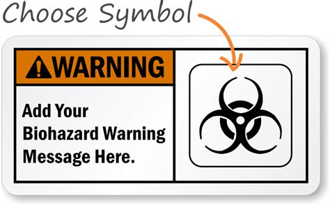 printable biohazard label free biohazards labels signs