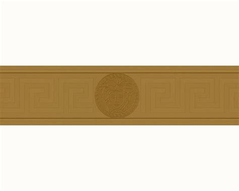 gold wallpaper border wallpaper border versace home greek medusa gold metallic