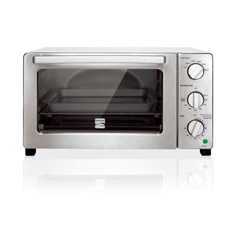 6 Slice Toaster Oven White kenmore 4606 6 slice convection toaster oven white sears outlet
