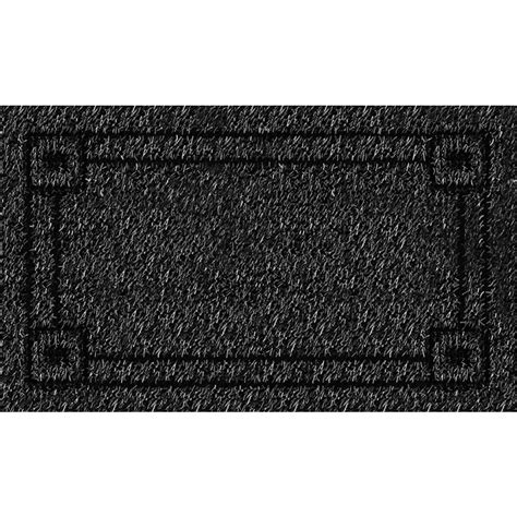 clean machine metro flint 18 in x 30 in door mat
