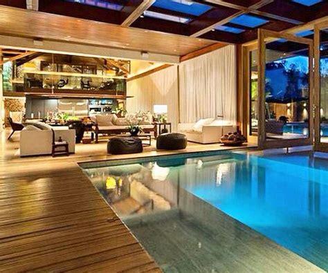piscina interna casa piscinas dentro de casa nautilus