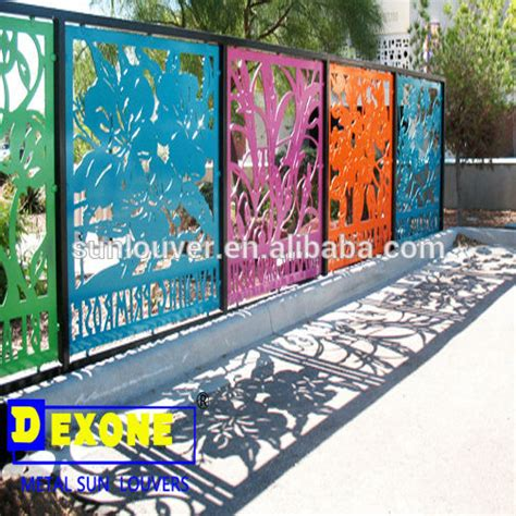 Metal Mesh Curtain Metal Aluminium Perforated Engraved Laser Cut Decorative