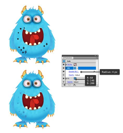 illustrator tutorial monster how to create a candy monster character in adobe illustrator
