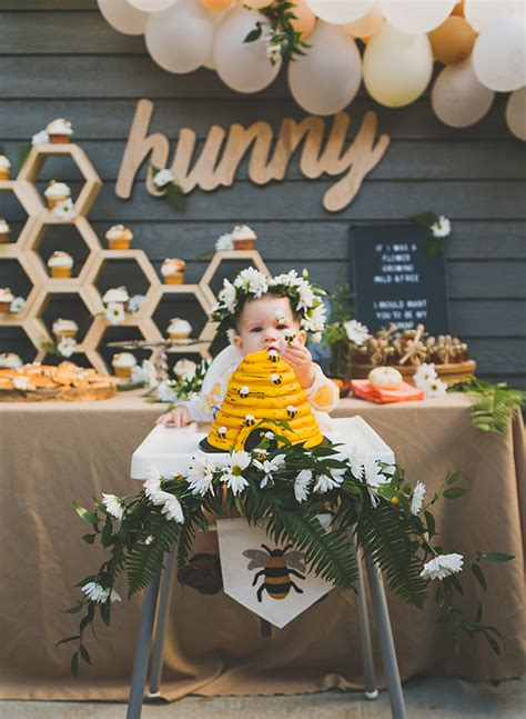 Honey Bee First  Ee  Birthday Ee   Party Inspired By This