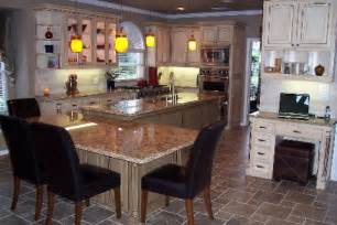 Kitchen Islands With Seating For 4 Kitchen Island With Seating Ideas Homes Gallery