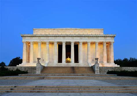 monument of abraham lincoln in washington dc bouwwerk lincoln memorial in washington