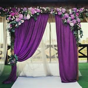 awesome wedding decoration ideas with fabric flower