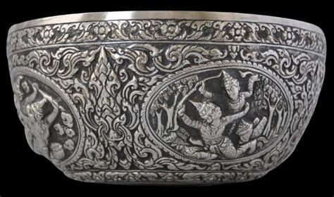 thai silver thai silver bowl