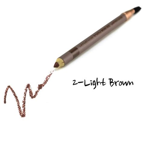 City Lights Eye Pencil city color duo brow pencil with brush light brown