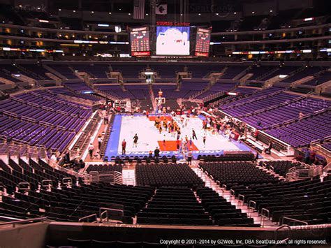 staples center section 205 staples center section 206 seat views seatgeek