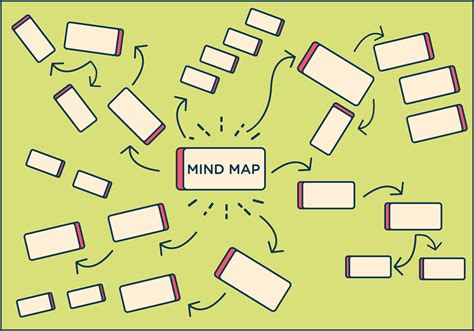 free mind map free mind map element vector free vector