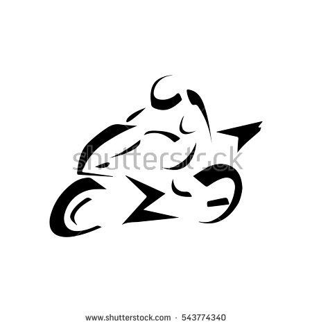 Motorcycle Racing Stock Images Royalty Free Images Vectors Shutterstock Motorcycle Logo Design Templates