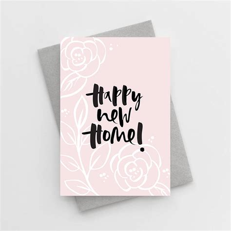 happy  home  home card   wordy