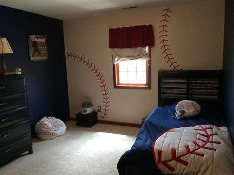 baseball themed bedroom baseball bedroom baseball pinterest bedrooms room