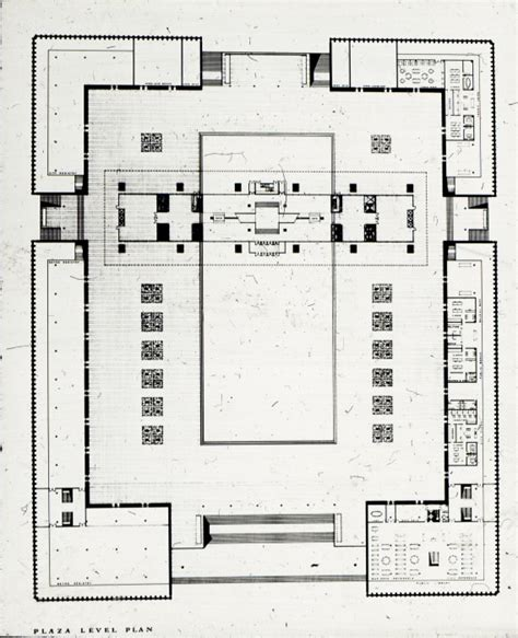 city hall floor plan william hayward and associates entry city hall and square