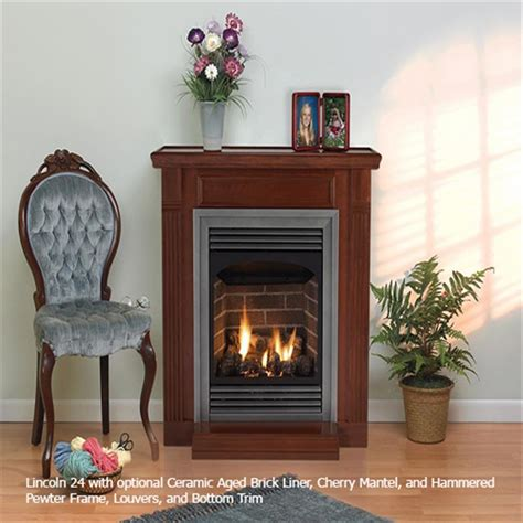 american hearth lincoln vent free fireplaces