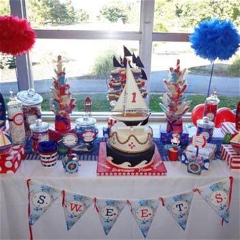 nautical themed table decorations baby birthday baby birthday and birthday