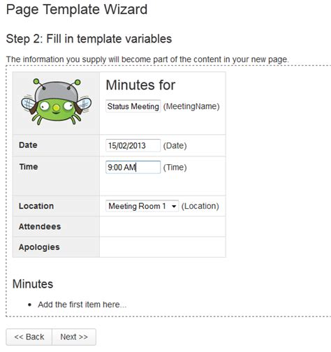 Create A Page From A Template Atlassian Documentation Create A Page Template