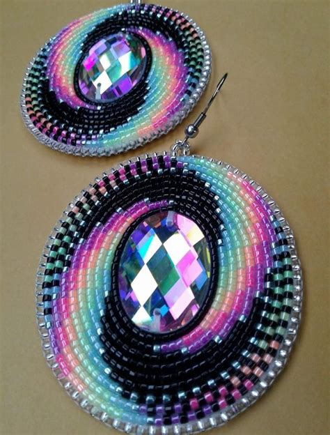 Beaded Earrings pin af winnie mikkelsen p 229 great beading earrings