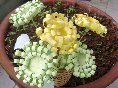 Craft With Papers - paper crafts paper chrysanthemums craft ideas