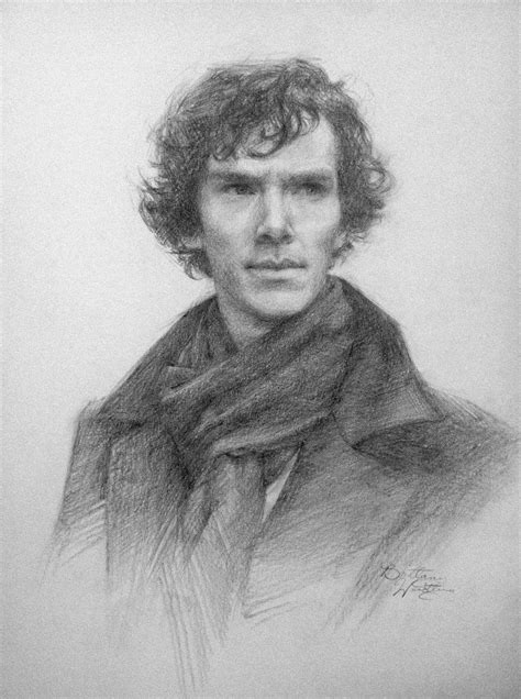 Brittany Weistling | My two Sherlock drawings in honor of