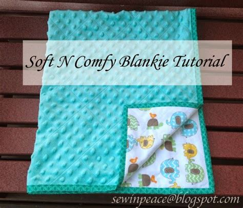 Easy Baby Blanket by Quot Soft N Comfy Blankie Tutorial Quot And Easy Baby Quilt