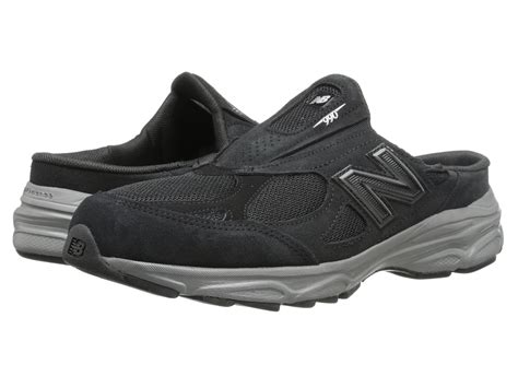 where to buy sneakers lyst new balance m990v3 slip on in black