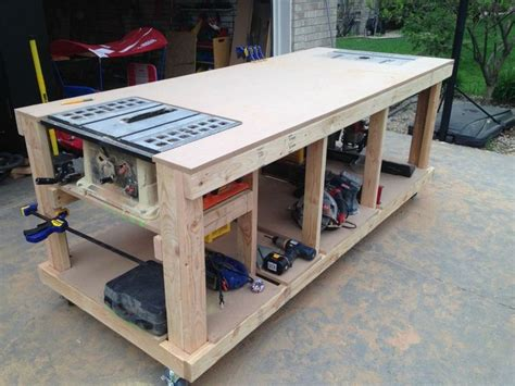 workshop bench 25 best ideas about woodworking bench on pinterest