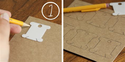 How To Make A Paper Organizer - diy embroidery notions