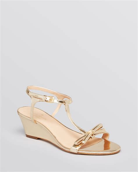 Genevieve Sandals By Kate Spade by Lyst Kate Spade New York Wedge Sandals Donna T In