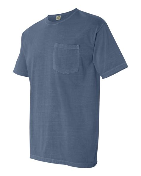 comfort colors pocket t comfort colors pigment dyed short sleeve mens t shirt with