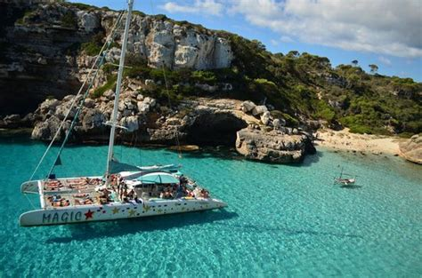 excursion catamaran es trenc catamaranes magic palma de mallorca 2018 qu 233 saber