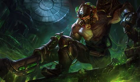 New Skin by At 20 5 16 Pbe Update Chemtech Tryndamere New