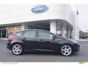 2013 Ford Focus Titanium Hatchback Tuxedo Black 2013 Ford Focus Titanium Hatchback Exterior