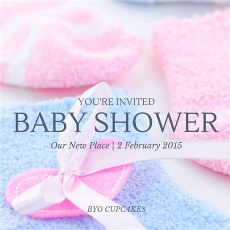 Can You Organise Your Own Baby Shower by Make Your Own Baby Shower Invitation Canva