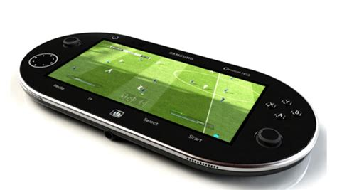 android based console samsung hd3 android based portable gaming console concept